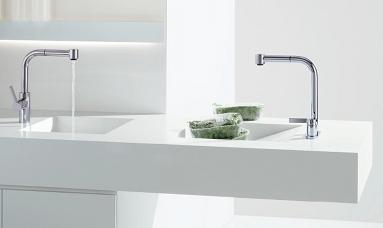 Die formschöne Elio Armatur von Dornbracht für Ihre Küche
