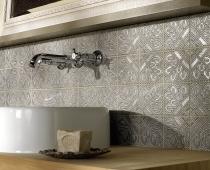 Waschschale mit Fliesenmosaik Natural Glamour von Jasba