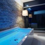 Bild einer Duravit Nahho Badewanne mit Beleuchtung